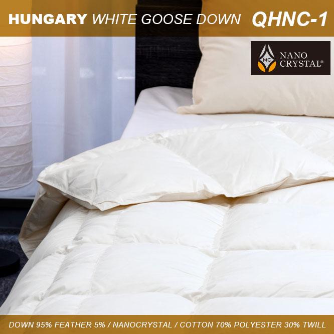 羽毛肌掛けふとん ハンガリーホワイトグース QHNC-1